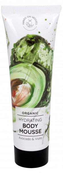 Hands On Veggies Hydrating Body Mousse Avocado & Viola