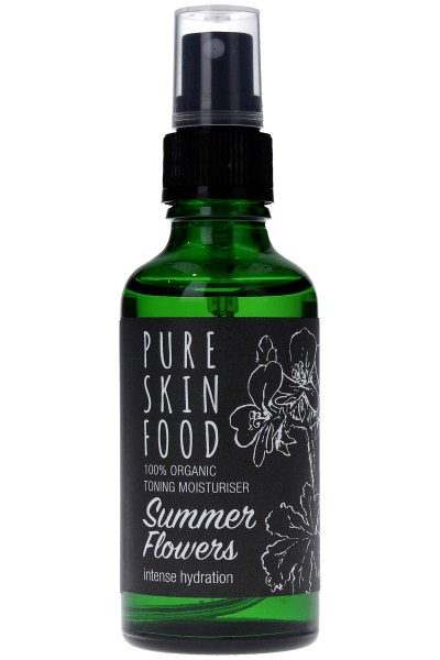 Pure Skin Food Toning Moisturiser Summer Flowers Tonic Spray
