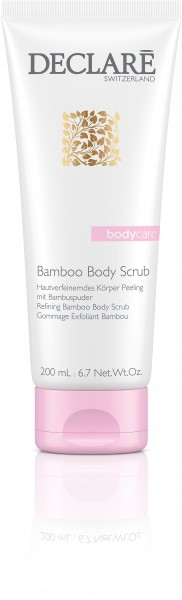 Declaré Body Care Bamboo Body Scrub Körperpeeling