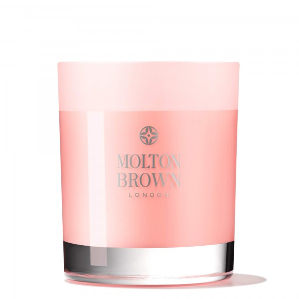 Molton Brown Delicious Rhubarb & Rose Single Wick Candle Duftkerze