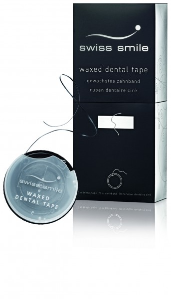 Swiss Smile inbetween waxed dental tape Zahnband gewachst