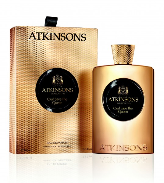 Atkinsons Oud Save the Queen Eau de Parfum Damenduft