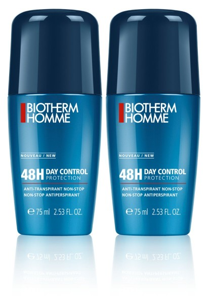 Biotherm HOMME 48h Day Control Protection Roll-on Duo Doppelpack