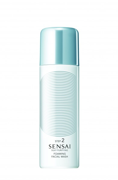 Sensai Silky Purifying Foaming Facial Wash Step 2