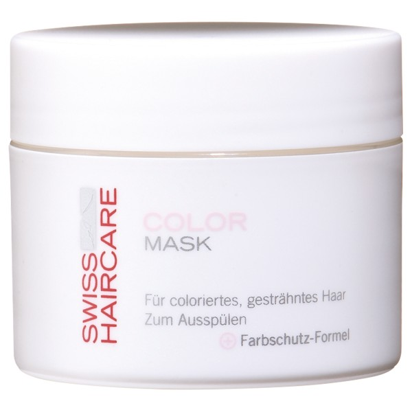 Swiss Haircare Color Mask wirkt farberhaltend